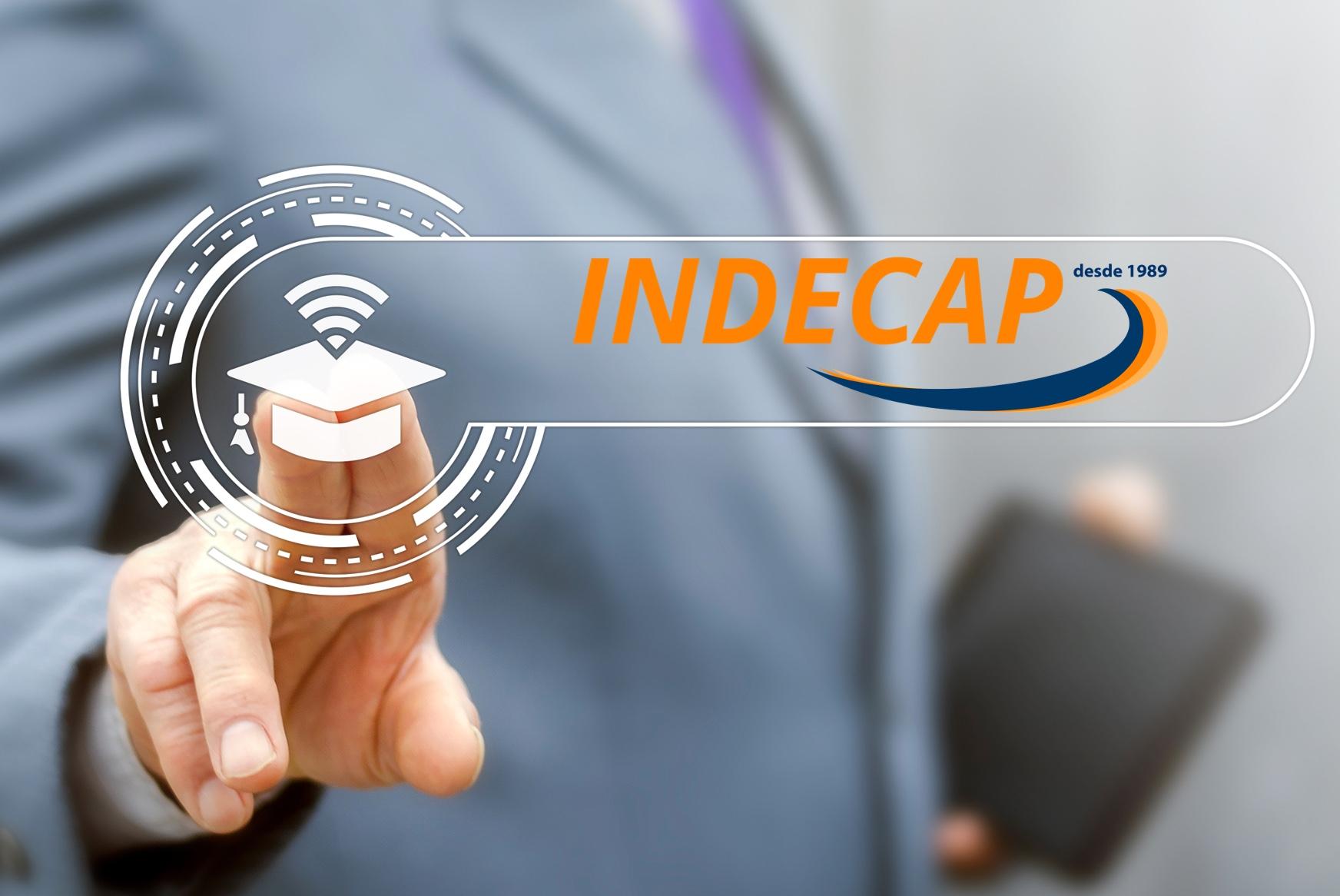 Indecap presenta su nuevo logo y se incorpora a la revolución digital